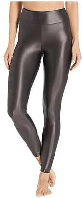 Koral Lustrous High-Rise Leggings (Black) Women's Casual Pants