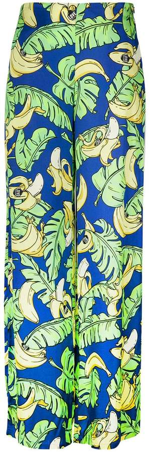Love Moschino banana print trousers