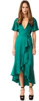 Temperley London Parrot Wrap Dress