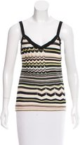 M Missoni Patterned Sleeveless Top w/ Tags