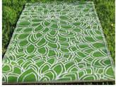 Eden Outdoor Rug in Green