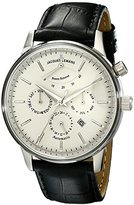 Jacques Lemans Men's N-211A Classic Analog Display Japanese Automatic Black Watch