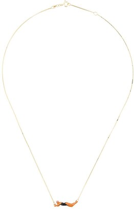 ALIITA 9kt Gold Swimmer Necklace