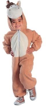 BuySeasons Big Boys and Girls Corduroy Horse Costume