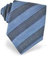 Forzieri Diagonal Striped Woven Silk Tie