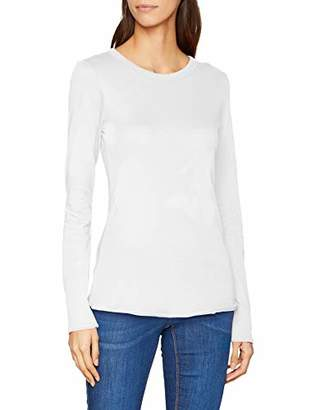 Marc O'Polo Denim Women's 849225952823 Longsleeve T-Shirt, (Cream White 102), Large