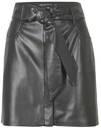 Nanushka eco-leather Meda skirt