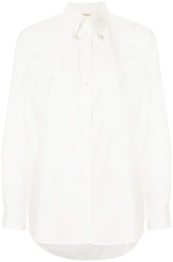 Ports 1961 pearl embellished shirt