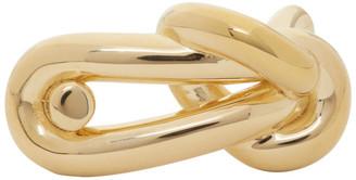 Bottega Veneta Gold Knot Ring