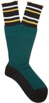 Marni Striped cotton-blend socks