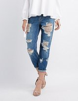 Charlotte Russe Cello Destroyed Boyfriend Jeans