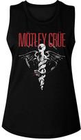 American Classics Women's Tank Tops BLK - Motley Crue Black Logo Doctor Feel Good Album Muscle Tank - Women