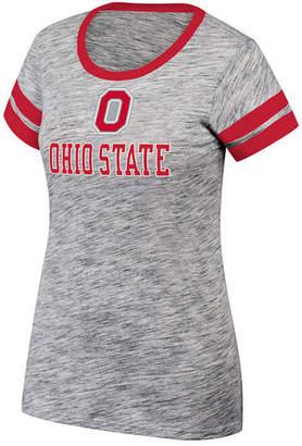 Top of the World Women Ohio State Buckeyes Tiebreaker Ringer T-Shirt