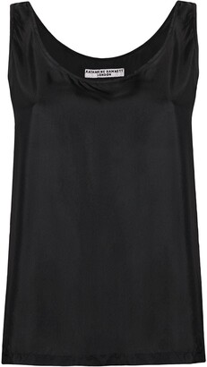 Katharine Hamnett Sleeveless Silk Top
