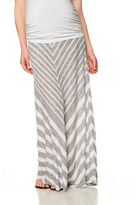 Motherhood Secret Fit Belly Chevron Stripe Maternity Skirt