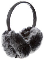 Adrienne Landau Grey Fur Earmuffs w/ Tags