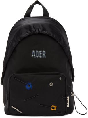 Ader Error Black Mask Backpack