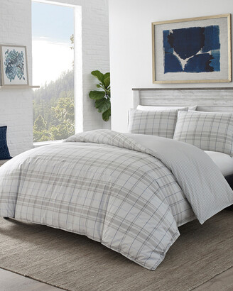 Eddie Bauer Grays Harbor Plaid Duvet Cover Set