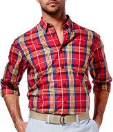 Haggar Life Khaki Woven Shirt