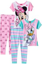Disney Disney's Minnie Mouse & Daisy Duck Toddler Girl Tops & Pants Pajama Set