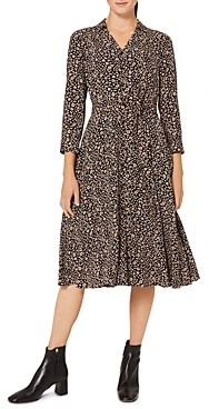 Hobbs London Rosaline Printed Shirt Dress