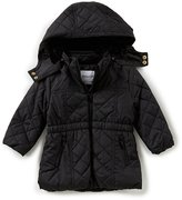 Starting Out Baby Girls 3-24 Months Hooded Puffer Jacket