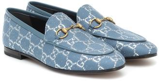 Gucci Jordaan GG-brocade loafers