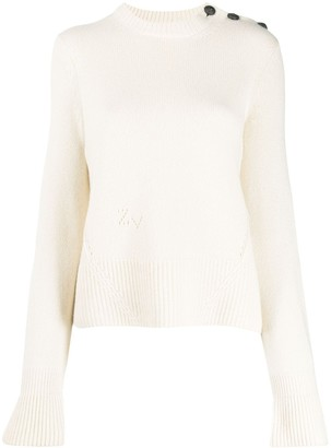 Zadig & Voltaire Zadig&Voltaire Posy long sleeve knitted jumper
