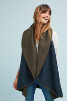 Anthropologie Two-Toned Shawl Vest