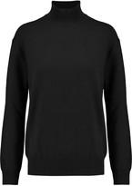 Alexander Wang Cutout merino wool turtleneck sweater