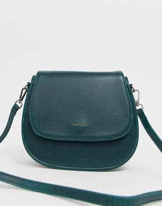 Matt & Nat saddle bag in emerald-Green