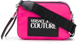 Versace contrast logo shoulder bag