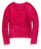 Tommy Hilfiger Little Girl's Fur Sweater