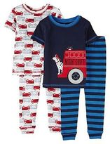 Just One You® made by Carter's Baby Boys' 4 Piece Short Sleeve/Short Sleeve PJ Set Blue - Just One YouMade...