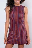 RVCA Striped Sweater Dress