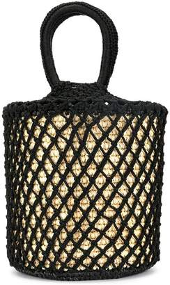 Sensi Studio layered net bucket bag