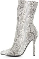 Charlotte Russe Pointed Toe Mid-Calf Booties