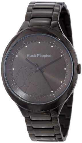 Hush Puppies Women's HP.3784L.1502 Signature Black Stainless Steel Casual Watch