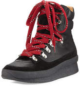 Isabel Marant Brendty Lace-Up Leather Hiker Sneaker