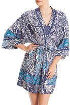 In Bloom Vallarta Paisley Wrap Robe
