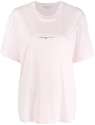 Stella McCartney 2001 stamped logo T-shirt