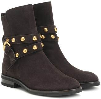 See By Chloã© Neo Jines suede ankle boots