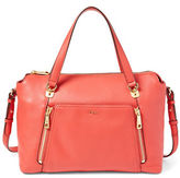 Lauren Ralph Lauren Pebbled Leather Satchel