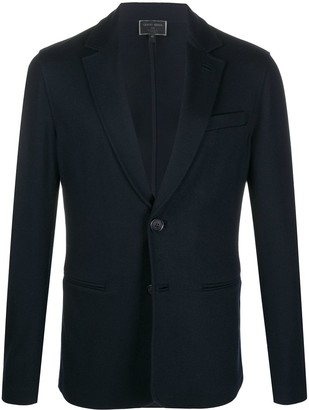 Giorgio Armani Fitted Single-Breasted Blazer