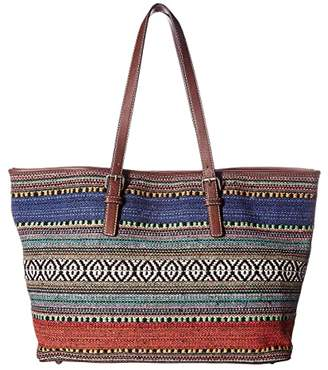 M&F Western Savannah Conceal Carry Tote (Serape/Brown) Handbags