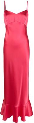 Saloni Strappy Slip Dress