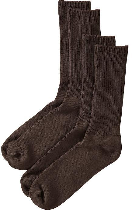 Old Navy Men's Rib-Knit Sock 2-Packs