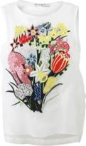 Mary Katrantzou Sepack Embroidery Top