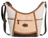 Bolo Women's Faux Leather Crossbody Handbags - Grey