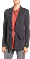 Eileen Fisher Petite Women's Merino Wool Bird's Eye Jacquard Cardigan